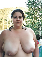 Nudist plumpers mostly with big tits - Chubby Naturists