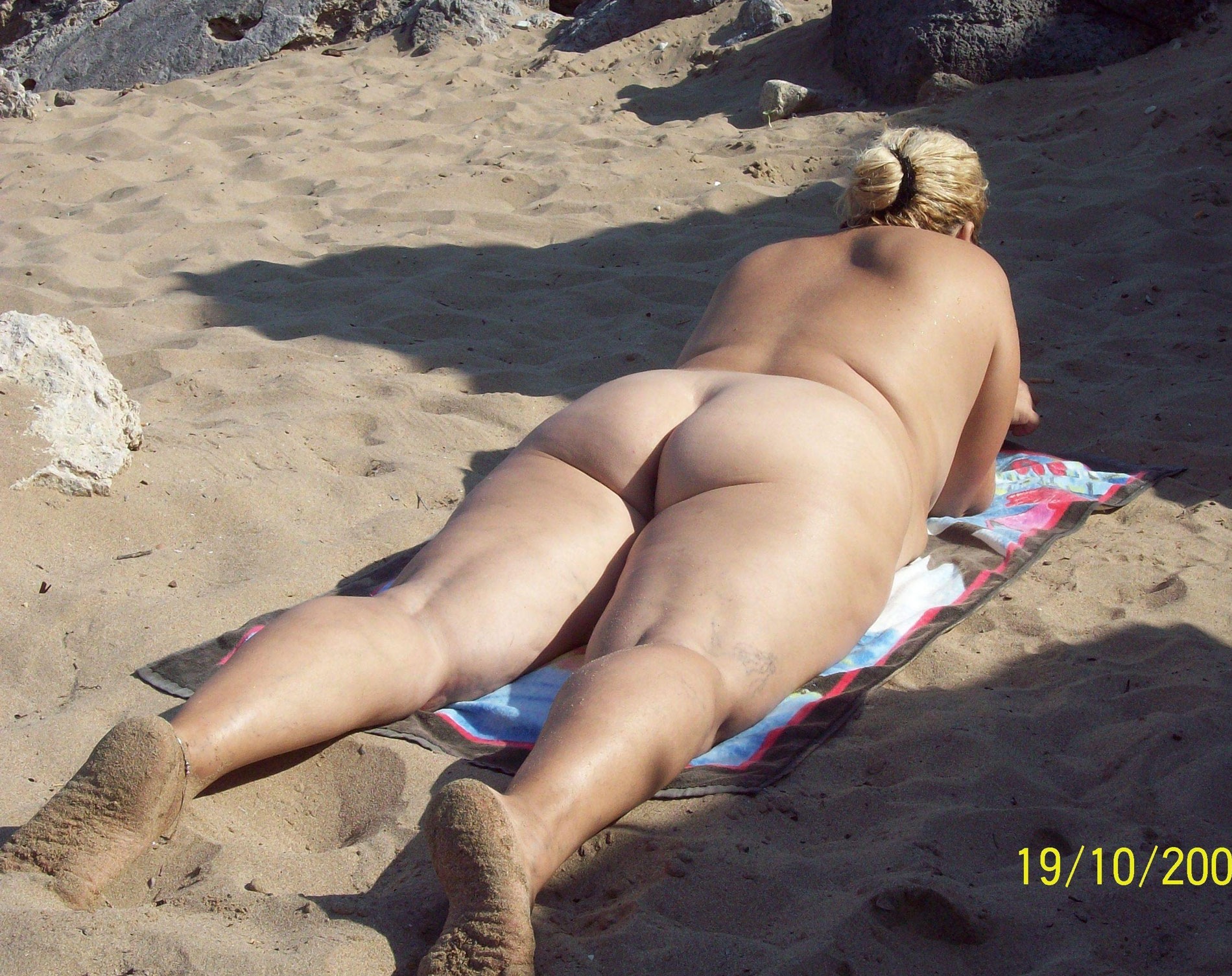 Bbw on nude beach share your